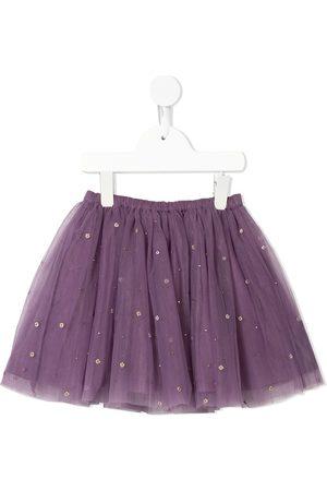 Velveteen Girls Skirts - Jemima embellished tutu skirt