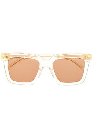 Bottega Veneta Square - Square-frame sunglasses - Neutrals