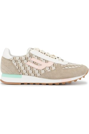 Bally Women Sneakers - Branded lace-up sneakers - Grey