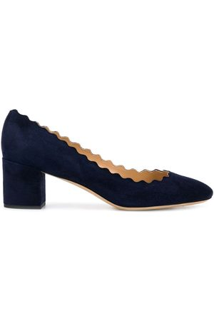 Chloé Scalloped ballerina pumps