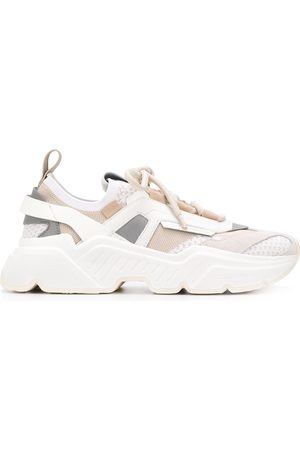 Dolce & Gabbana Women Sneakers - Daymaster stretch mesh sneakers - Neutrals