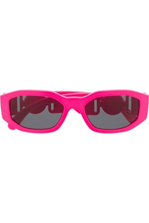 Versace Eyewear Sunglasses - Medusa Biggie oval frame sunglasses