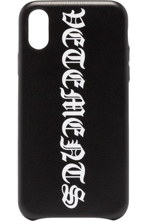 Vetements Goth logo-print iPhone XS case