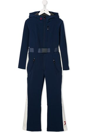 Perfect Moment Girls Jumpsuits - Ski belted jumpsuit