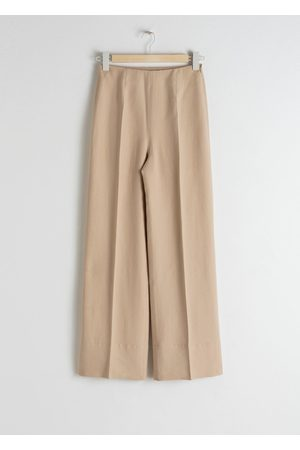& OTHER STORIES Wide Lyocell Blend Trousers