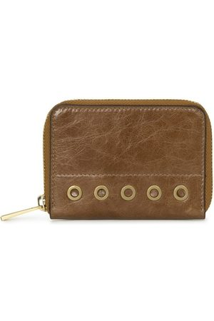 Vanessa Bruno Women Wallets - Small crinkled Leather wallet