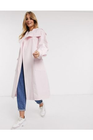 ASOS Waterfall trench coat in