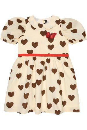 Mini Rodini Heart-print cotton dress