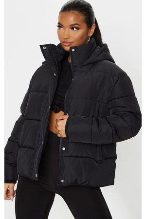 PRETTYLITTLETHING Hooded Puffer Jacket