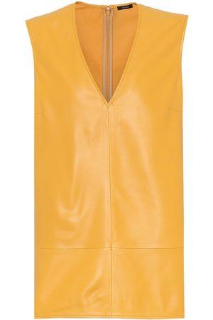 Joseph Bia leather top
