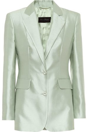 Max Mara Omar cotton and silk blazer