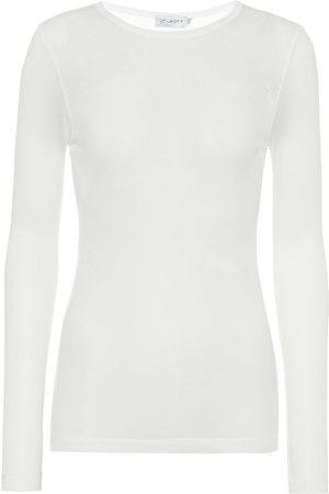 ERNEST LEOTY Alice Rib long-sleeve top