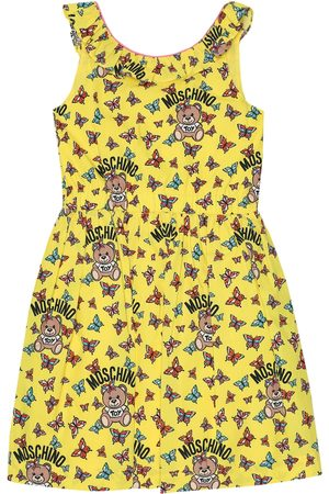 Moschino Printed cotton dress