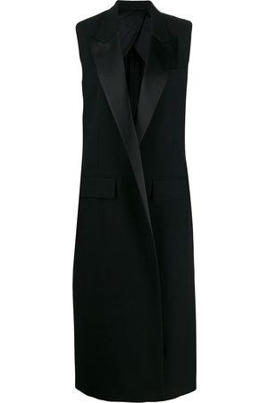 Ami Sleeveless long-line waistcoat