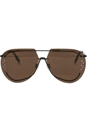 Kenzo Aviator glasses in metal