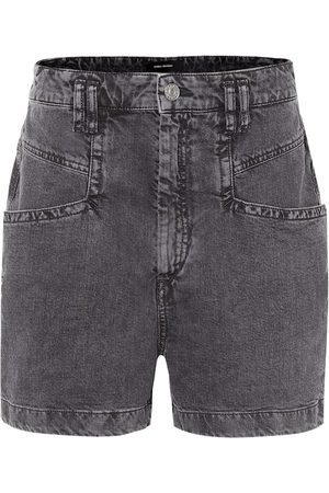 Isabel Marant Esquia high-rise denim shorts
