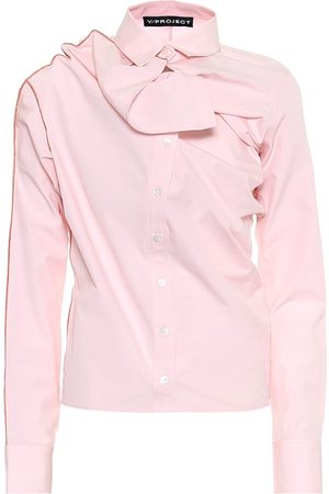 Y / PROJECT Women Long sleeves - Cotton shirt