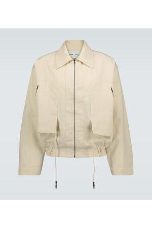 CMMN SWDN Sami cotton-linen blouson jacket