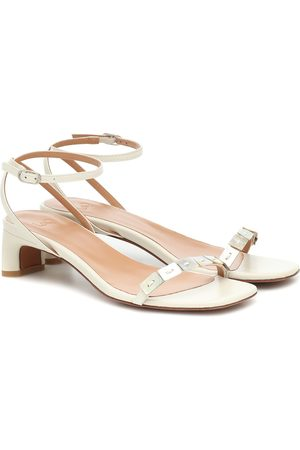 LOQ Perla leather sandals