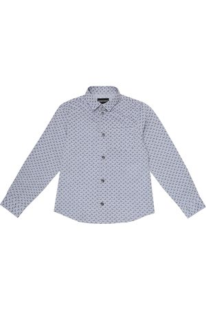 Emporio Armani Logo cotton shirt