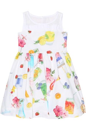 MONNALISA Printed cotton dress