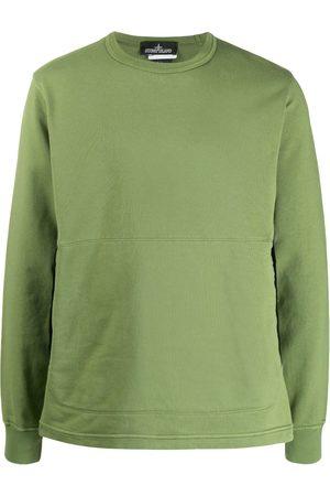 STONE ISLAND SHADOW PROJECT Panelled crew neck sweatshirt