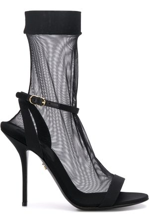 Dolce & Gabbana Sheer sock-style stiletto sandals