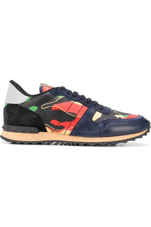 VALENTINO GARAVANI Rockrunner camouflage-print sneakers