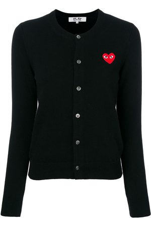 Comme des Garçons Heart logo cardigan