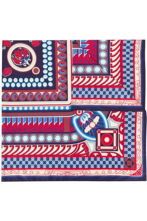 La DoubleJ Women Scarves - Contrast print silk scarf