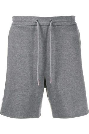 Thom Browne Interlock RWB stripe shorts - Grey
