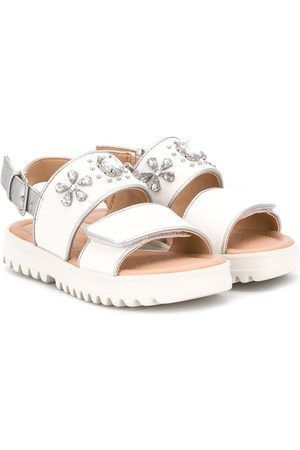 Geox Embellished buckled sandals