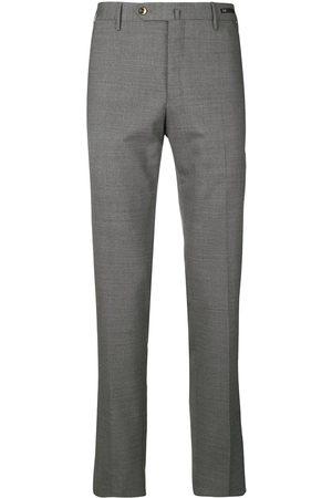 PT01 Men Formal Pants - Slim fit tailored trousers - Grey