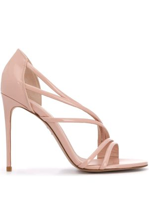LE SILLA Scarlet 120mm strappy sandals - Neutrals