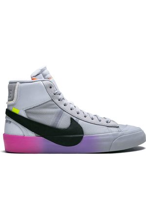 """Nike The 10: Blazer Mid """"Queen"""" sneakers - WOLF GREY/ COOL GREY"""