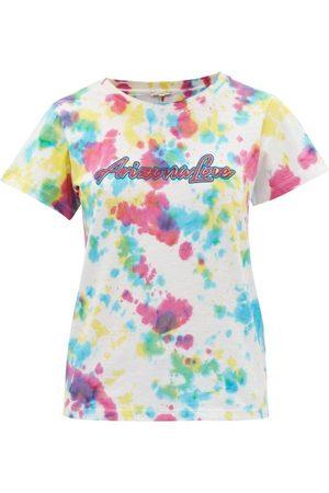 Arizona Love Ally Logo-print Tie-dye Cotton-jersey T-shirt - Womens - Print