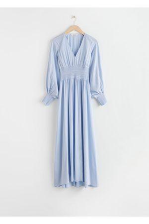 & OTHER STORIES Women Maxi Dresses - Smocked Waist Maxi Dress
