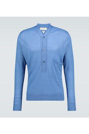 Rochas Men Sweaters - Linen-blend sweater