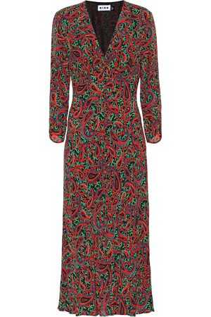 RIXO London Women Printed Dresses - Katie printed crêpe midi dress