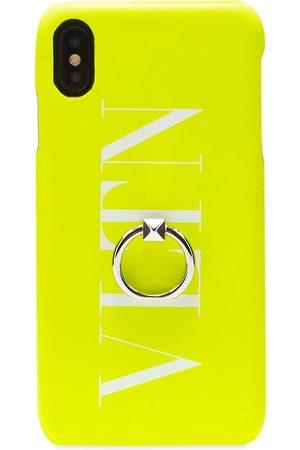 VALENTINO Men Phones Cases - Fluo VLTN iPhone Xs Maxcase