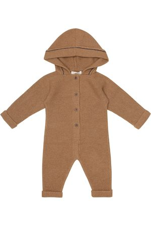 Caramel Rompers - Baby Kingston alpaca onesie