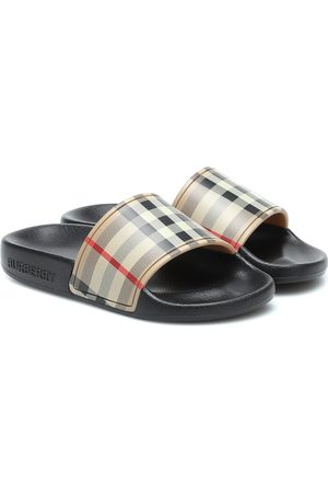 Burberry Boys Sandals - Vintage Check slides