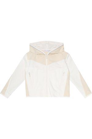Brunello Cucinelli Girls Hoodies - Embellished stretch-cotton hoodie