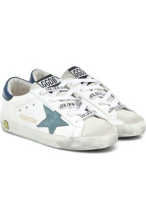 Golden Goose Girls Sneakers - Superstar leather sneakers