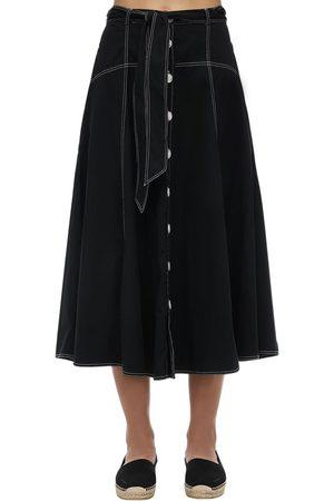 Polo Ralph Lauren Cotton Round Midi Skirt