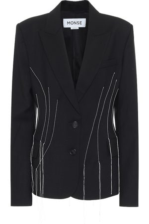 MONSE Women Blazers - Stretch-wool blazer