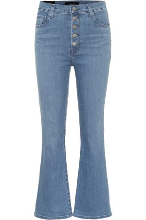 J Brand Lillie high-rise flared jeans
