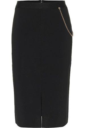 Givenchy Embellished knit midi skirt
