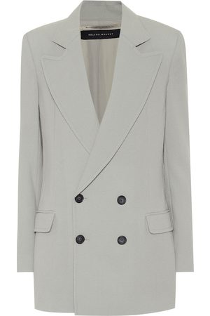 Roland Mouret Gilroy double-breasted wool blazer