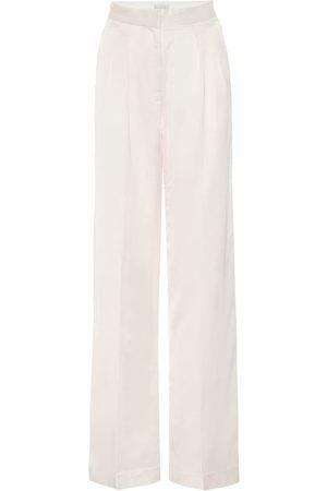 Rebecca Vallance Aimee high-rise wide-leg pants